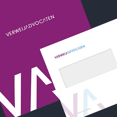 Corporate identity - Verweij Advocaten